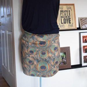 Nollie Peacock Skirt